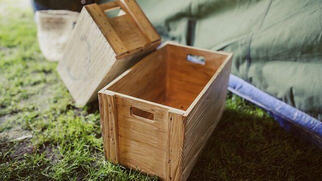 como hacer una caja de madera