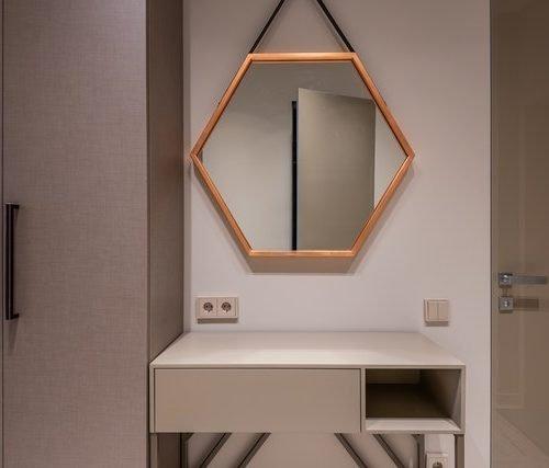 como hacer marco espejo casero